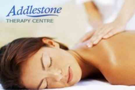 Addlestone Therapy Centre - Choice of One Hour Massage, Dermalogica Facial, Wax or Pedicure - Save 58%