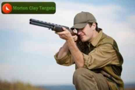 Morton Clay Targets - Clay Pigeon Shooting For One - Save 0%