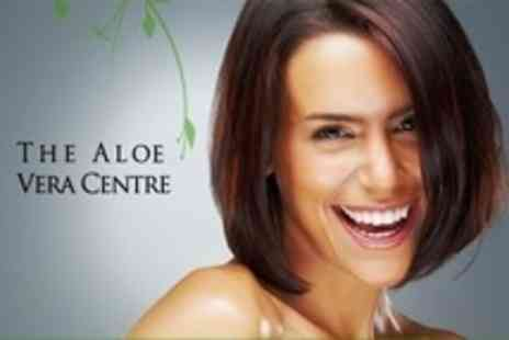 The Aloe Vera Centre - Revitalising Facial With Mask and Serum - Save 57%
