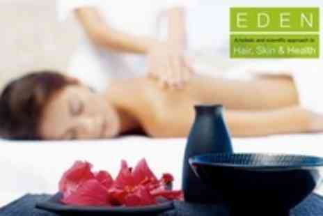 Eden Hair Group - One Hour Aromatherapy Massage and Environ Express Facial - Save 69%