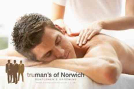 Trumans of Norwich - Mens One Hour Full Body Massage - Save 51%