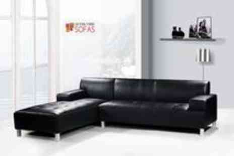 Leather Fabric Sofas - Chic Luxury Leather Sofa - Save 75%