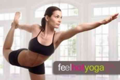 Feel Hot Yoga - Eight Hot Yoga Classes - Save 72%