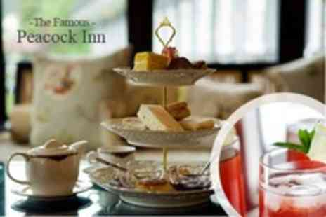 The Famous Peacock Inn - Afternoon Tea With a Twist For Two - Save 50%