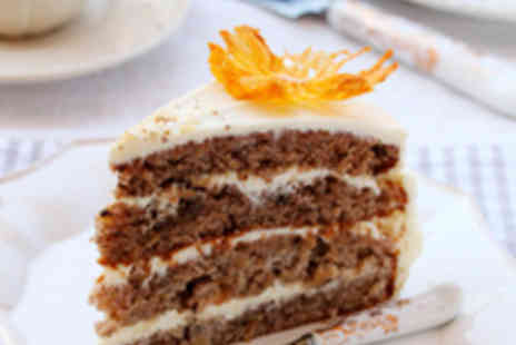 Walsall Garden Centre - Two Hot Drinks and Two Slices of Cake - Save 57%