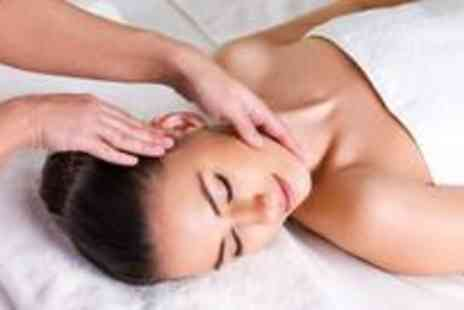 The Powder Room - Express facial, back massage, manicure and make up application - Save 81%
