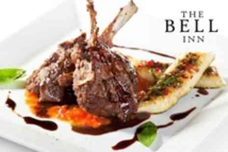 The Bell Inn - Two Course Gastropub Meal For Two - Save 60%