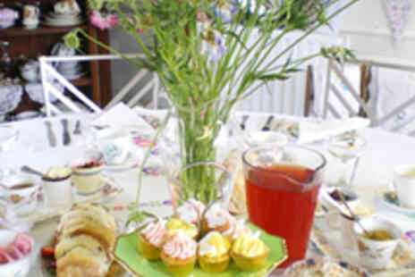 Orangemabel - Vintage High Tea with Bubbly for Two - Save 65%