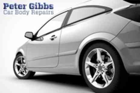 Peter Gibbs Car Body Repairs - Car Scratch and Paintwork Touch Up With Polish For One - Save 53%