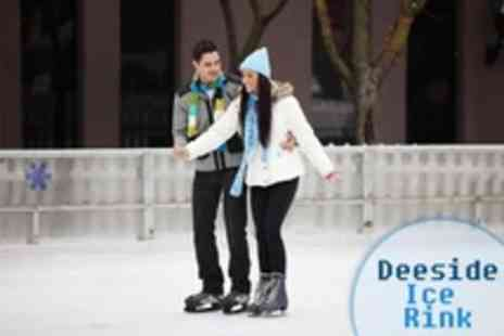 Deeside Ice Rink - Ice Disco Party For Ten With Meal and Slush Drink  - Save 59%