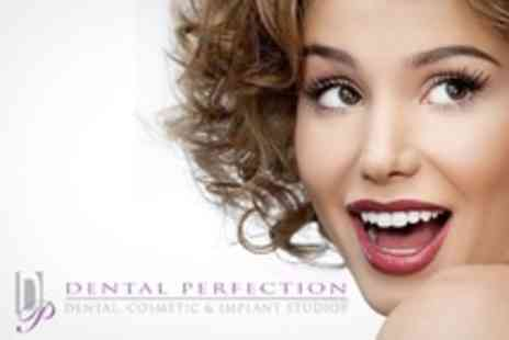 Dental Perfection - Set of Clear and Removable In Line Dental Braces - Save 50%