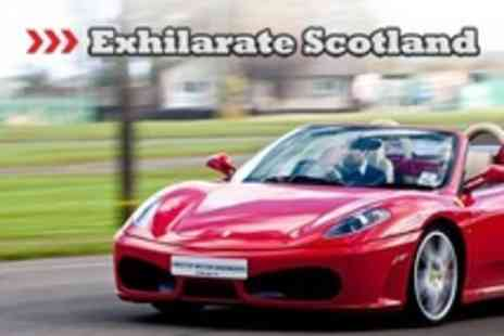Exhilarate Scotland - Highlands Supercar Experience - Save 77%
