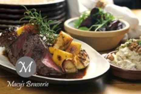 Macys Brasserie - Two Course Sunday Lunch For Two  - Save 59%