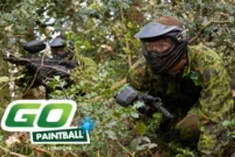 GO Paintball - London paintball day for 5 ppl includes 100 paintball Each - Save 67%