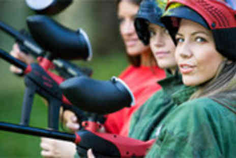 Topgun Paintball - Full day of paintballing including 100 paintballs and lunch - Save 87%