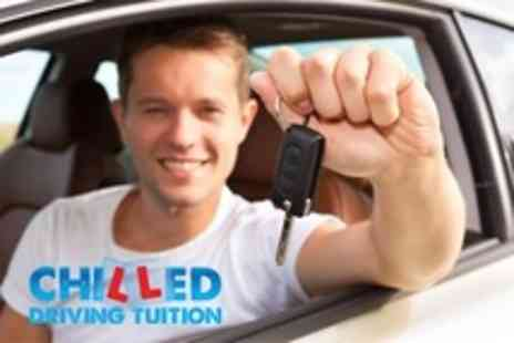 Chilled Driving Tuition - Five Hours of Driving Lessons - Save 61%