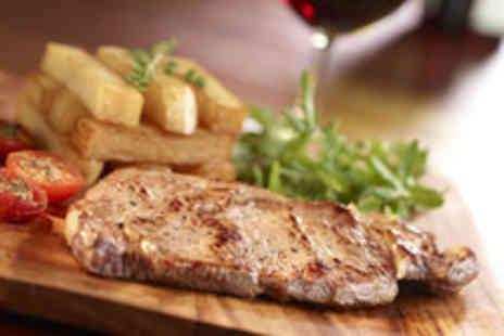 The Red Lion - Two course meal for 1 inc main dessert & glass of wine - Save 63%