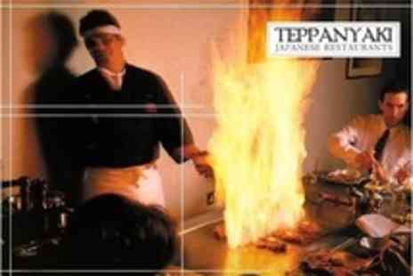 Teppanyaki - Three Course Japanese Teppanyaki Meal For Two With Wine - Save 54%
