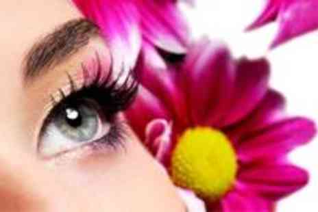 Beauty Basics - Full set of natural eyelash extensions plus an eyebrow and eyelash tint - Save 82%