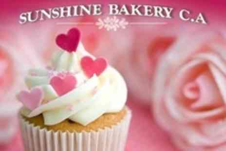 Sunshine Bakery - Cupcake Decorating Class For One - Save 10%