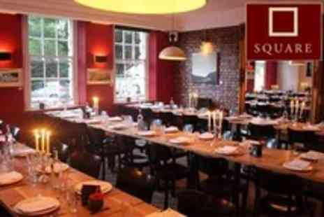 The Square Club - Seven Course Taster Menu For Two With Glass of Prosecco - Save 60%