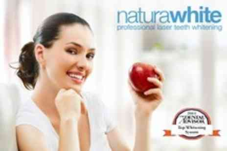 Naturawhite Edinburgh - 60 Minute Treatment Laser Teeth Whitening - Save 11%