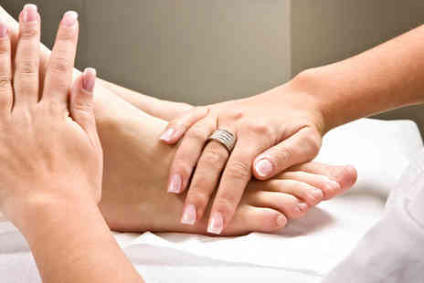 Rieker Chiropody - Hard skin removal or foot massage, plus a 10 minute fish pedicure - Save 70%