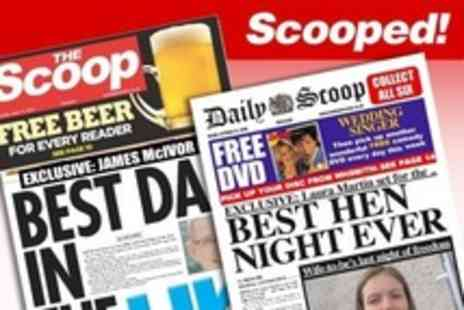 Scooped - Personalised Spoof Newspapers - Save 50%