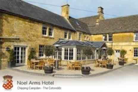 The Noel Arms Hotel - One Nights For Two With Spa Access, Bucks Fizz, Cream Tea and Breakfast - Save 50%