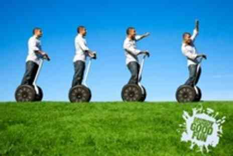 Muddy Good Fun - Segway Safari With Puzzle Trail Treasure Hunt For One - Save 65%