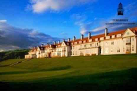 Turnberry Resort - One Night Stay in 5 star and Breakfast For Two Plus Evening Meal, Spa Treatments - Save 62%