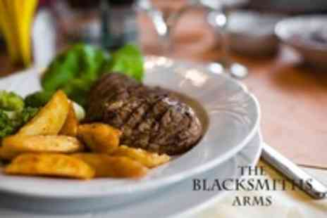 The Blacksmiths Arms - Steak Dinner For Two - Save 58%