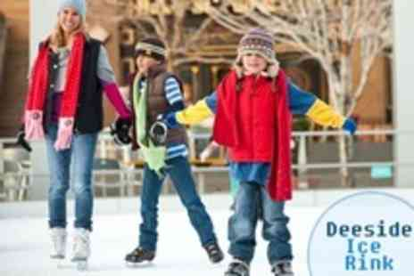 Deeside Ice Rink - Ice Skating For Two Adults - Save 54%