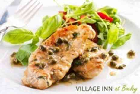 The Village Inn at Beoley - Two Course British Fare Meal For Two Adults  Plus Kid s Meal For Two Children - Save 59%