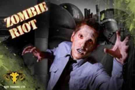 Ram Training - Zombie Riot Experience Day Including Light Lunch - Save 51%
