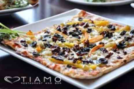 Tiamo - Italian Pasta or Pizza Meal, Plus Soup and Limoncello For Two or Four - Save 0%