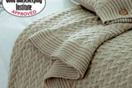 Good Housekeeping - Good Housekeeping Brompton Throw - Save 73%