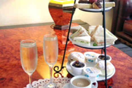 Hinton Firs Hotel - Afternoon Tea for Two with a Glass of Bubbly Each - Save 51%