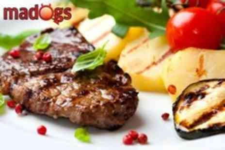 Madogs - Two Course Steak Meal With Cocktails For Two - Save 54%