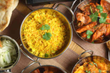 Memories of India  - Two Course Indian Meal for Two - Save 53%