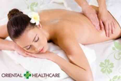 Oriental Healthcare - Choice of Massage and 30 Minute Acupuncture Session - Save 70%
