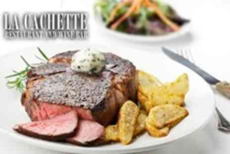 La Cachette - Chateaubriand For Two With Sauce and Sides - Save 30%