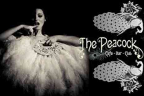 The Peacock Bar - Burlesque and Cabaret Night With Three Course Buffet, Champagne and Photography - Save 58%