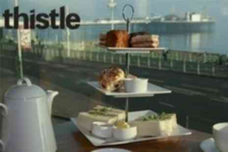 Thistle Hotel Brighton - Afternoon Tea For Two Plus Use of Spa Facilities - Save 58%