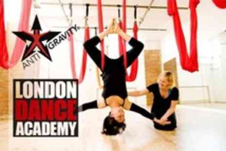 London Dance Academy - Three Classes of AntiGravity Yoga or Aerial Yoga - Save 53%