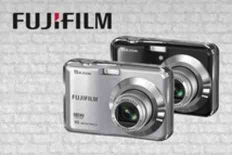 Born on the Streets - Fuji FinePix 16 Megapixel Camera in Black or Silver - Save 55%