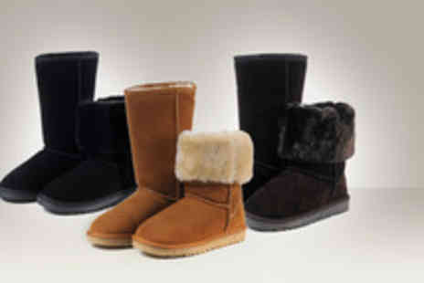 Carllen - Pair of sheepskin boots stay stylish & warm this winter - Save 54%