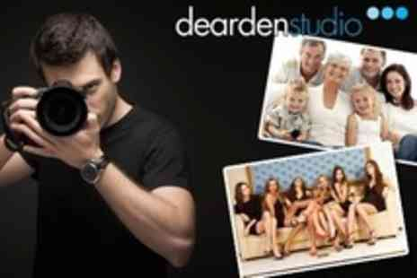 Dearden Studio - Photo Shoot Such as Family or Makeover With Style Consultation and Framed A4 Print - Save 93%