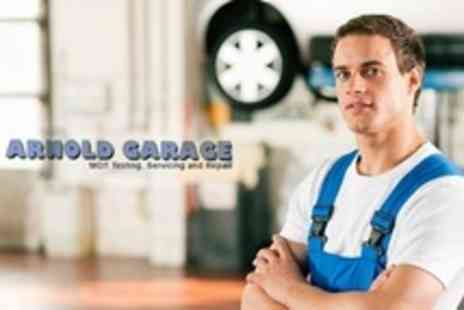 Arnold Garage - 54 Point Winter Car Service Including Cabin Filter and Oil Filter Change - Save 65%