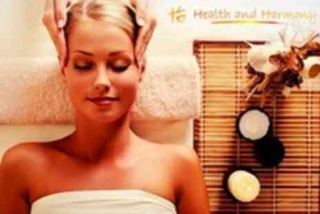 Health and Harmony - Beauty Treatments Choice of Two Such as Facial, Manicure, and Back Massage - Save 57%